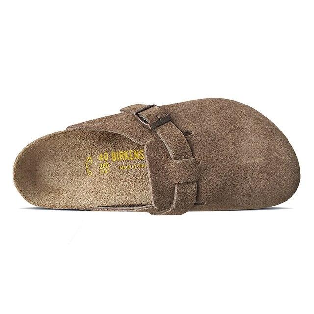 Фото 2020 оригинальная обувь birkenstock унисекс boston прочная модная цена