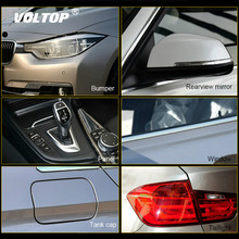 Rhino Skin Protective Film Car Bumper Hood Paint Protection Sticker Anti Scratch Clear Transparence Accessories