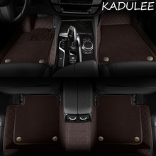 Car-Floor-Mats Car-Accessories Kodiaq Styling Skoda Octavia KAMIQ Superb Custom Rapid