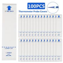 Thermometer-Cover 100pcs Disposable Pet-Anal Household