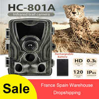 Hc-801a Trail Hunting Trap Camera Wild Game Night Animal Thermal Photo Waterproof With 5000mah Lithium Battery
