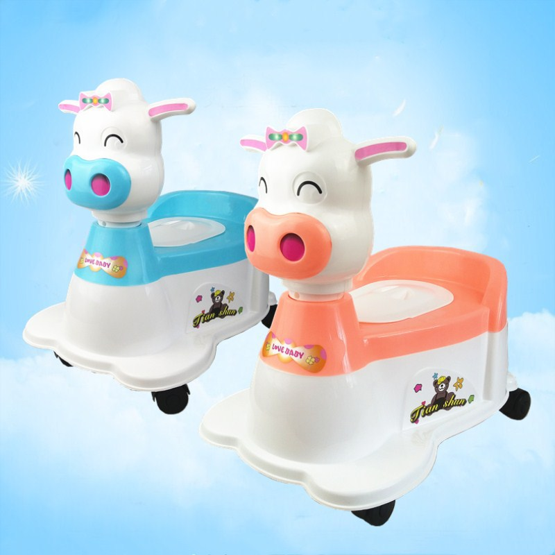 Amoy Supply Of Goods Multi-functional Toilet For Kids Drawer-type With Music-Sliding Baby Small Chamber Pot