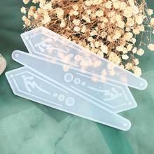 Diy ювелирные изделия делая инструменты маркер вентилятор силиконовый