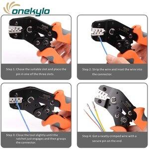 Image 5 - SN 28B sıkma araçları Dupont Pin sıkıştırma kilitleme modüler yalıtımlı terminali Crimper Pin 2.54mm 3.96mm iyi ATX, EPS, PCIE ve SATA güç pimleri Molex parçası 43030 0006 terminal konnektörü