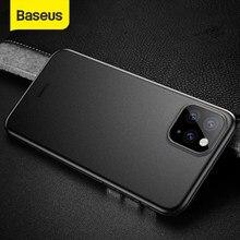 Baseus-funda de teléfono Invisible, cubierta protectora Superfina para iPhone 11 Pro Max, 8, Xr, Xs Max