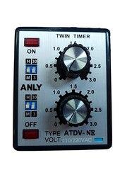 220V ANLY ATDV-NE wielostopniowy podwójnie dostrojony przekaźnik czasowy podwójny przekaźnik opóźniający