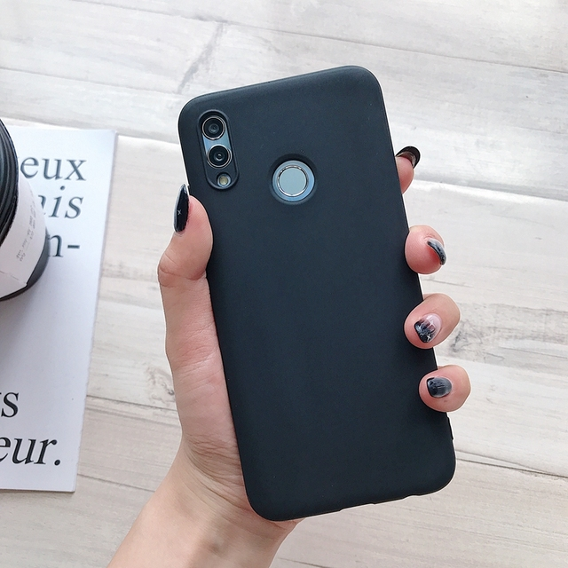 Matte Soft Tpu Back Cover for Huawei Y5P Y6P Y7P 2020 Y8P Y6S Y9S Y9 Prime 2019 Y7 2018 Y5 Lite Y6 Y 6 Candy Color Silicone Case