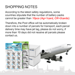 Image 2 - YCDC 10pcs/lot 3V CR 1025 CR1025 Lithium Button Battery DL1025 BR1025 KL1025 Cell Coin Batteries For Watch Electronic Toy Remote