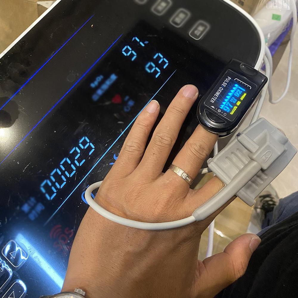 1 Pcs Blood Oxygen Monitor Finger Clip Pulse Oximeter Display Oximeter Finger Health Dignostic Monitor Oximeter
