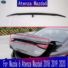 Для Mazda 6 Atenza автомобильные аксессуары задняя дверь багажника Крышка отделка багажника Гарнир