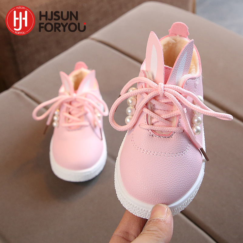 2020 New Children Shoes Comfortable Snow Boots Girls Fashion Sneakers Kid Warm Baby Casual Shoes Non-slip Martin Boots