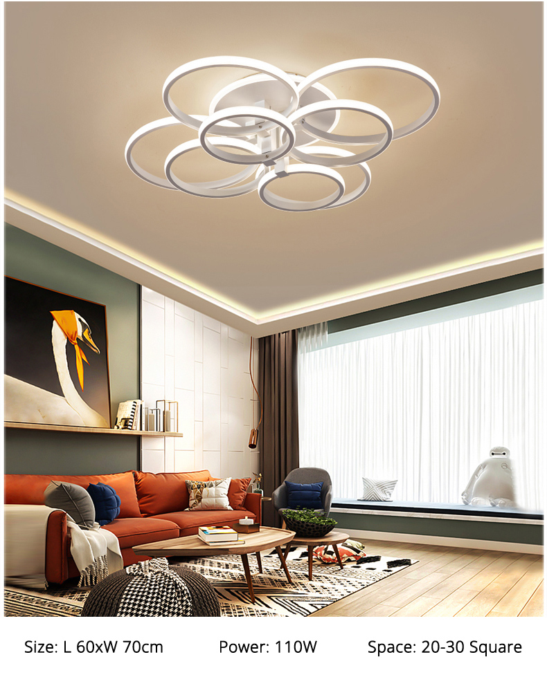Modern LED Chandeliers For Home Decoration