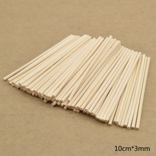 100pcs 3mm Reed Diffuser Replacement Stick DIY Handmade Home Decor Extra Thick Rattan Reed Oil Diffuser Refill Sticks