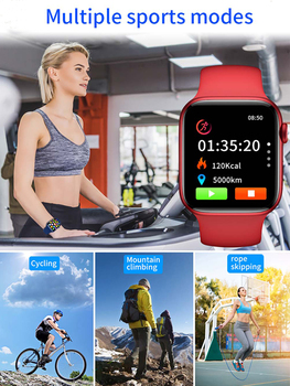 2021 IWO Smart Watch Men Women T500 Pro Plus Sports Smartwatch Heart Rate Monitor Blood Pressure Fitness Tracker For Android IOS 6
