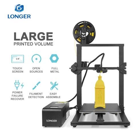longer lk1 impressora 3d com 2 8 tela de toque grande volume impresso exclusivo design