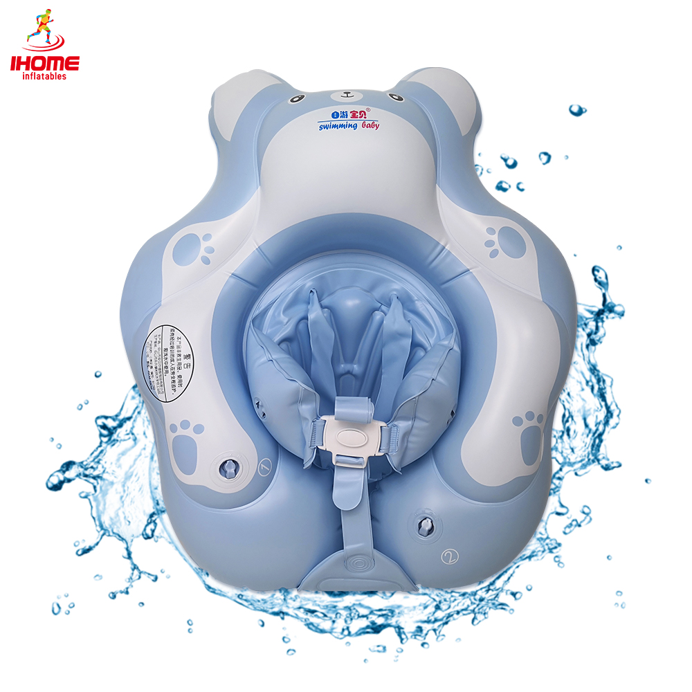2020 New Baby Swimming Ring Inflatable Cartoon Bear Swim Circle For 0-6 Age Children Bathing Pool Float Infant Buoy Arms Ring