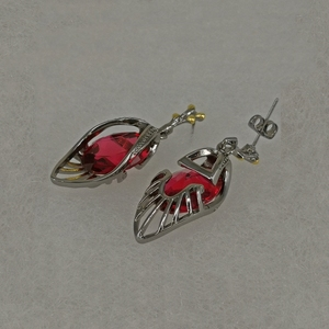 Image 5 - DreamCarnival 1989 Delicate Feminine Red Earrings  for Women Water AAA Drop Zirconia Holiday Christmas 2020 New Year Gift WE3988
