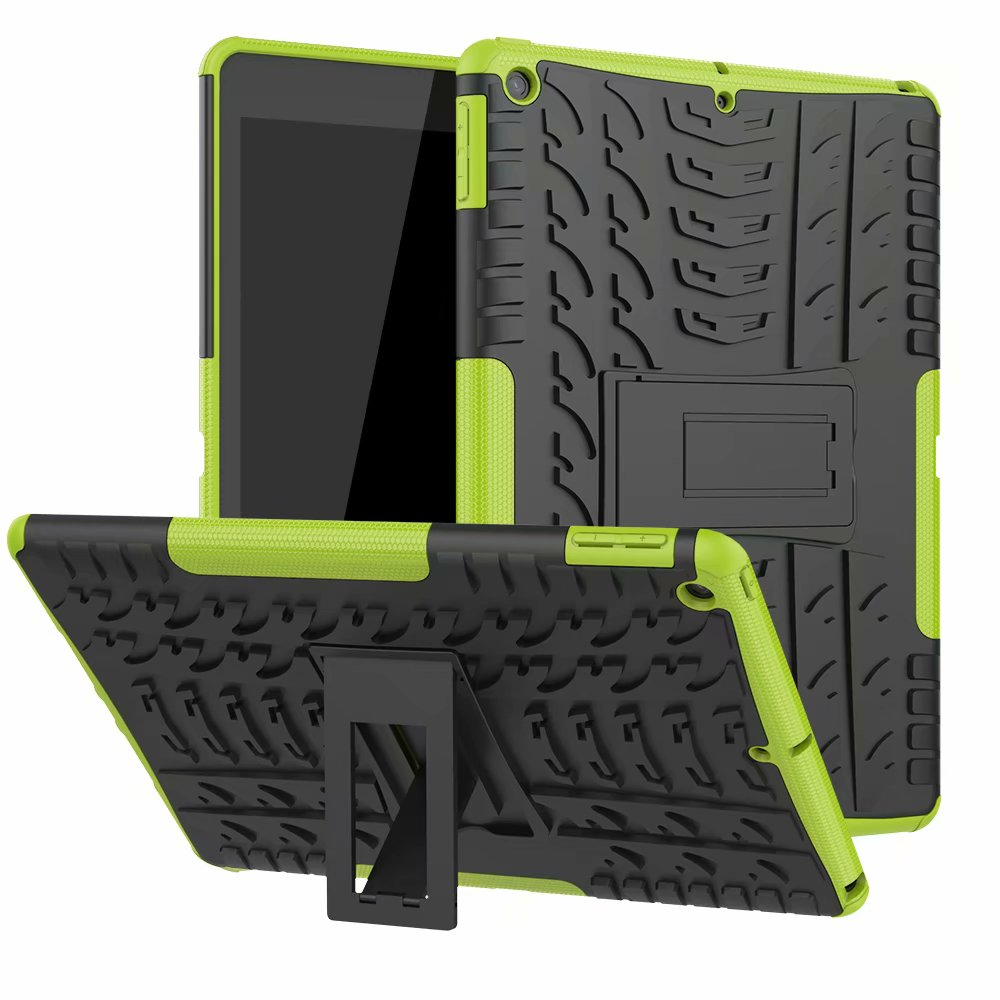 Rugged Shockproof Child Case-Cover for Apple Heavy-Duty Hybrid-Armor Defender Kids iPad
