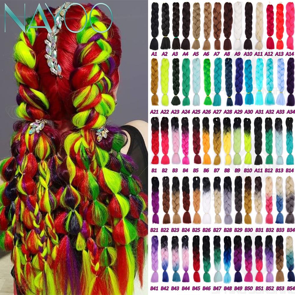 Nayoo Hair Jumbo Crochet Braids 24