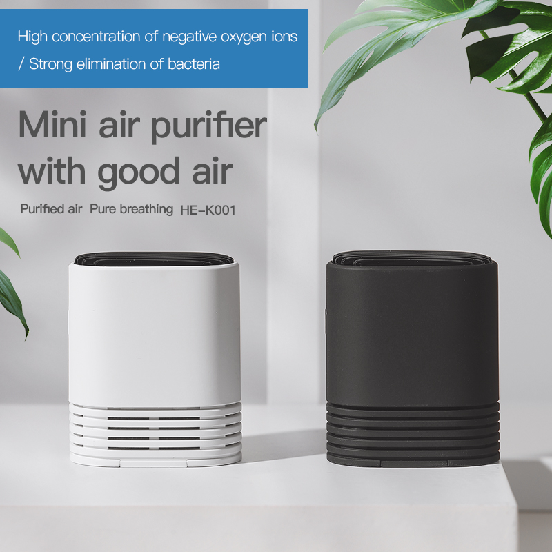 Personal Fashionable Wearable Necklace Type Hanging Neck Air Purifier Mini Portable Negative Ion Air Purifier