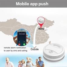 WIFI Smoke Detector Tuya APP Fire Alarm Sensor Independent Smoke Alarm Protection Android IOS Remote Control