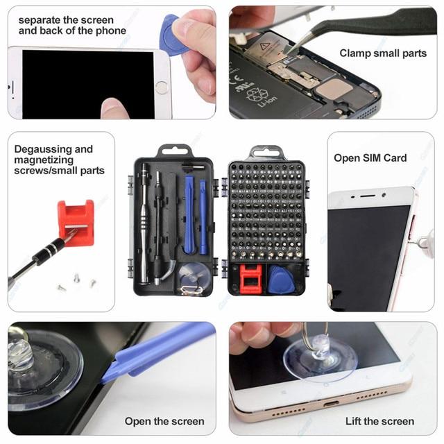 GZERMA Smartphones Repair Tool Sets Mobile Phone Repair Tools Screwdriver Kit For iPhone 12 Samsung PC Watch Cell Phone Camera 2