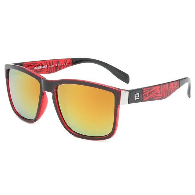 Gafas de sol cuadradas clásicas para hombre y mujer, lentes de sol coloridas para deportes al aire libre, playa, pesca, viajes, UV400 3