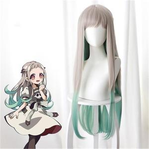 Image 5 - אנימה Jibaku Shounen Hanako kun Hanako Kun פאת קוספליי שחור קצר סינטטי שיער פאה תלבושות תפקיד לשחק פאות Pelucas