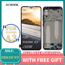 INCELL For Xiaomi MI A3 LCD Screen Touch Screen With Original Frame Digitizer Assembly For MI CC9e LCD Display Replacement