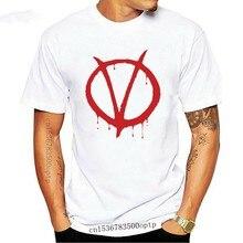 T-Shirt pour hommes et femmes, amusant et personnalisé, à la mode, pour Vendetta - Alan moreer