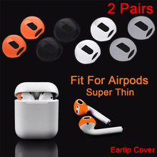 Case-Cover Earphone Tips Apple Airpods Anti-Slip Silicone Earbud for Soft Ultra-Thin