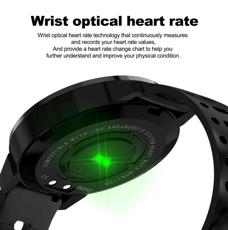 CF58 Смарт-часы мужские водонепроницаемые часы фитнес-трекер монитор сердечного ритма спортивные Смарт-часы для Xiaomi huawei телефон