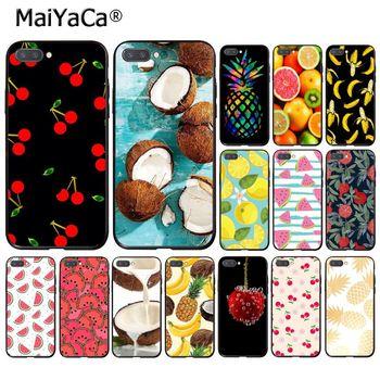 MaiYaCa الكرز الصيف الفاكهة البطيخ الأناناس قضية الهاتف لهواوي الشرف 8X 9 10 20 لايت 7A 5A 7C 10i 8C 7A 9XPro