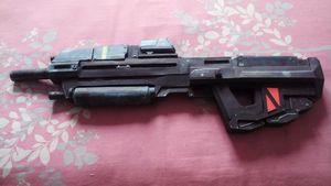 Halo MA37 Step Sniper 3D, modelo de papel hecho a mano, abanico militar de dibujo hecho a mano, modelo militar DIY, juguetes para niños y adultos
