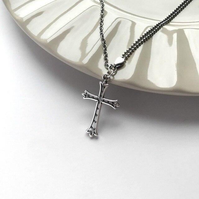 Фото женское винтажное ожерелье из серебра 925 пробы с подвеской цена