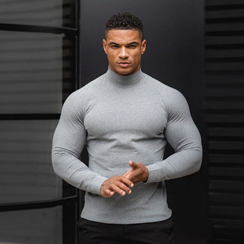 Compression Long sleeve t shirt Men Running Sport T-shirt Gym Fitness Quick dry Solid Tees Tops Male Jogging Training Clothing
