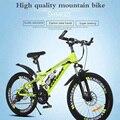 24-дюймовый 21 скоростной горный велосипед с регулируемой скоростью  для взрослых студентов  амортизирующий двойной дисковый тормоз