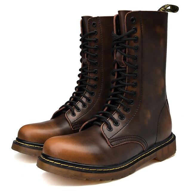 Мужские походные ботинки берцы для походов 6