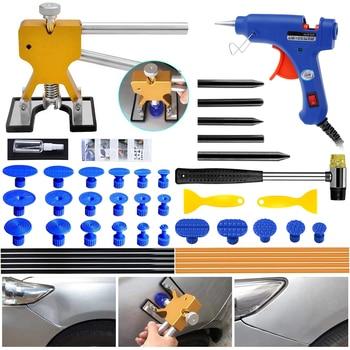 PDR Tools Repair Removal Tool Car Puller Dents Repair Auto Paintless Glue Hammer Hand Tools for Dent Removal Kits whdz pdr tools slide hammer with puller tabs dent removal repair tool paintless kits glue puller sets
