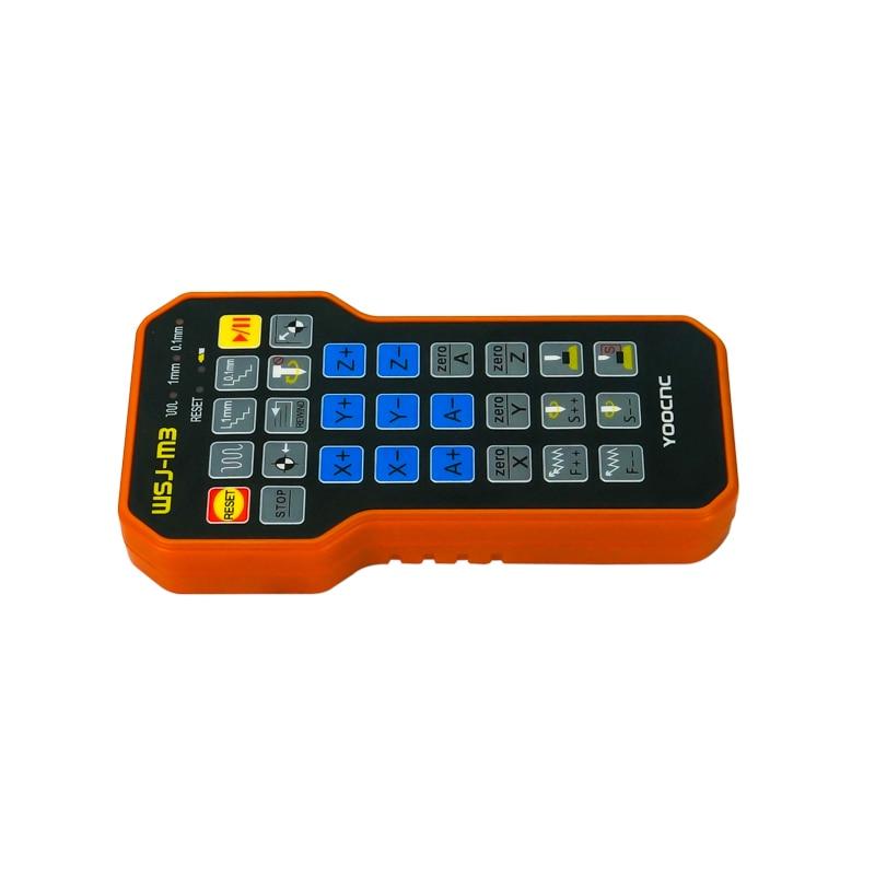 Peças de gravação cnc controle remoto mach3 mpg usb roda mão sem fio para máquina cnc - 2