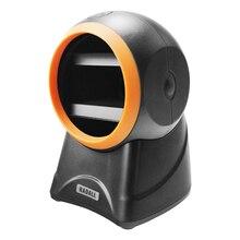 RADALL 무지 향성 바코드 스캐너 플랫폼 바코드 스캐너 2D 고품질 20 라인 데스크탑 POS 플랫 베드 바코드 리더