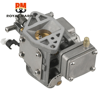 цена на 63V-14301-00 Carburetor Carb Assy For Yamaha 2 Stroke 9.9HP 15HP boat engine Replacement parts for outboard engine