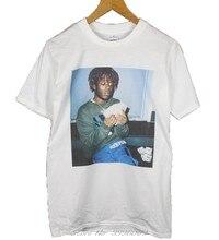 Lil Uzi – t-shirt à manches courtes pour homme et femme, Streetwear en coton, avec Logo hip hop, Vert, blanc