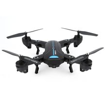 купить A6W Foldable Drone 3D Flip Roll One Key Take-off/Landing Altitude Hold Headless Mode Speed Switch RC Drone Quadcopter дешево