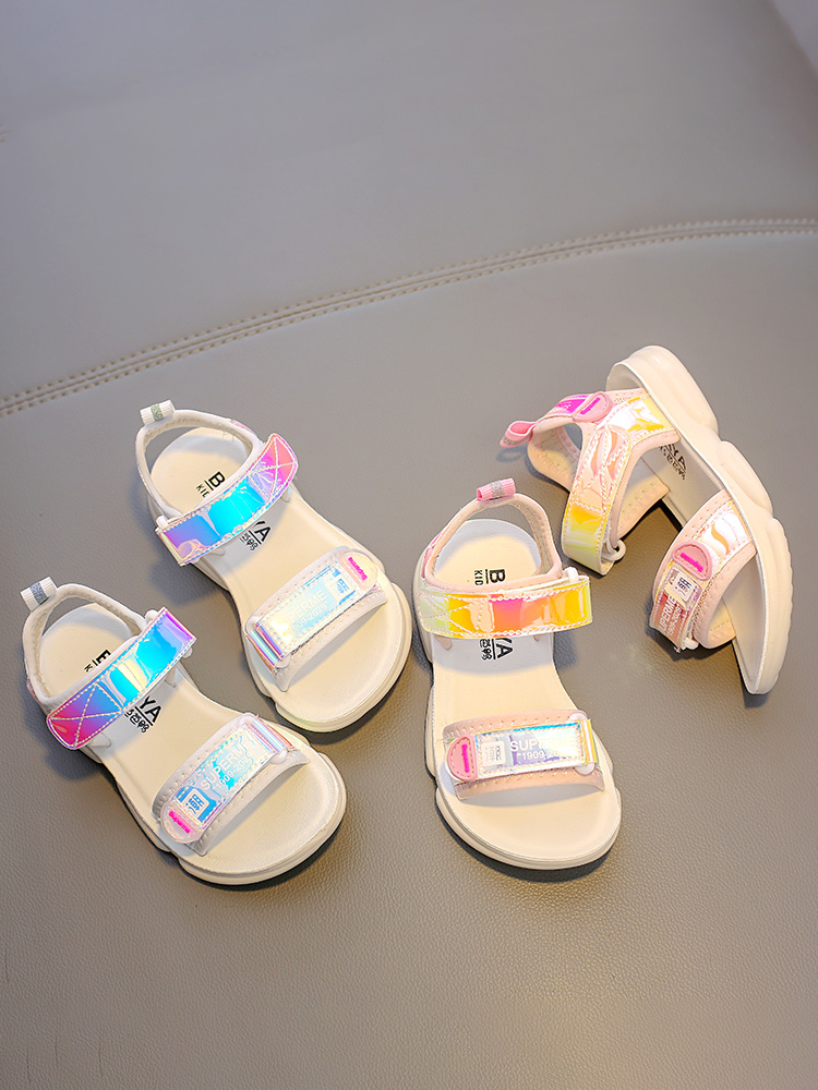 Babaya Kids Shoes Children Sandals Girls Breathable Fashion Summer Student for New-Style