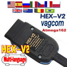 Сканер VAG V20.4 VAG Tool VAG KKL V20.4 VAG COM Кабель OBD2 Диагностический кабель ATMEGA162 + 16V8 + FT232RQ OBD2 сканер VAG HEX V2 VAG