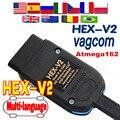 Сканер VAG V21.3 VAG Tool VAG KKL V20.12 VAG COM Кабель OBD2 Диагностический кабель ATMEGA162 + 16V8 + FT232RQ OBD2 сканер HEX V2 VAGCOM