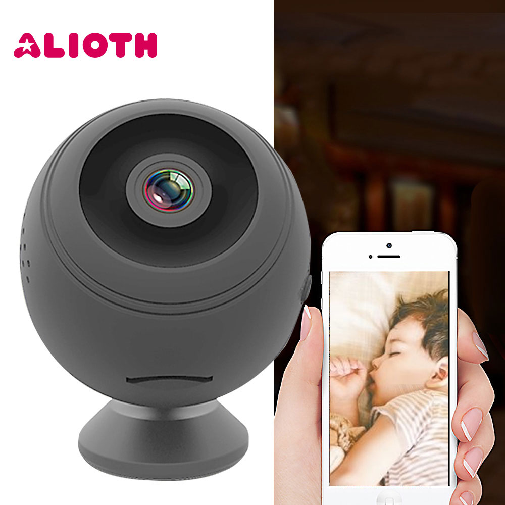 Alioth 1080P Baby Sleeping Monitor Infant Security Camera Wifi Camcorder P2P CCTV Cam Recorder Night Vision Remote Camera