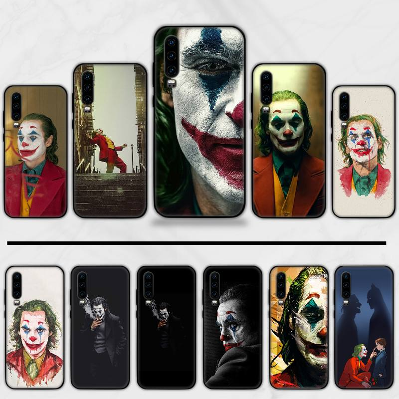 Joker movie marvel DC boy Printing Phone Case cover Shell Funda For Huawei P9 P10 P20 P30 Lite 2016 2017 2019 plus pro P smart image