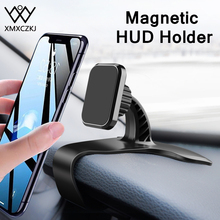 XMXCZKJ Car Phone Mount New Design Super Strong Magnet 360 Rotation Universal Magnetic Dashboard Holder GPS HUD Stand